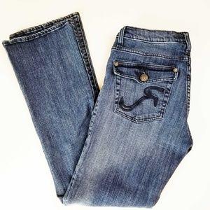 Rock & Republic Womens Kasandra Blue Jeans Size 12